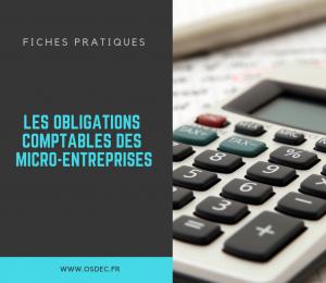 Nouvelle fiche pratique : les obligations comptables pour une micro-entreprise